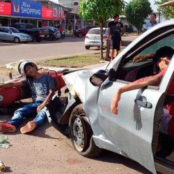 Simulação de acidente alerta para um trânsito mais seguro