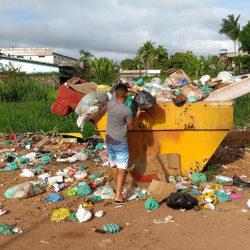 Coleta de lixo em Santana só deve normalizar no sábado, 28