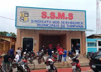 Servidores municipais aprovam greve em Santana
