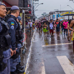 Governo define esquema de segurança para o desfile do Bloco A Banda