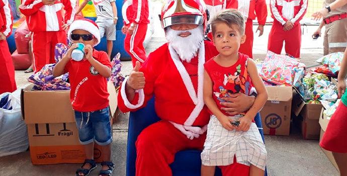 Ação presenteia mais de 10 mil crianças em Santana