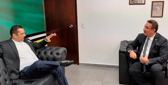 Em Brasília, Ofirney Sadala consegue R$ 5 mi para saúde, educação e turismo
