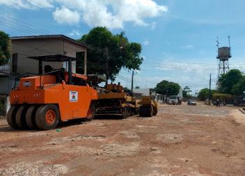 Vila Amazonas recebe melhorias nas ruas e avenidas