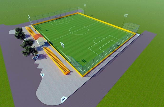Prefeitura inicia construção de arena esportiva no bairro Hospitalidade