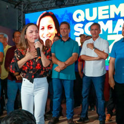 Marcivânia e Lucas reforçam pré-candidatura de Josenildo