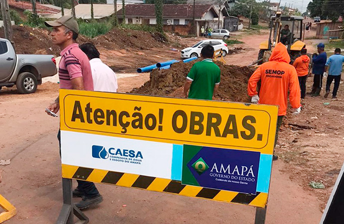 Novo sistema de abastecimento de água do Ambrósio deve ser concluído em 120 dias