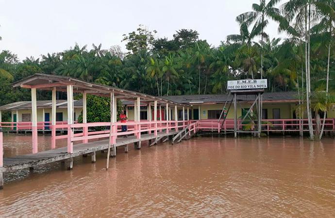 Escola municipal teria encerrado atividades sem concluir calendário letivo