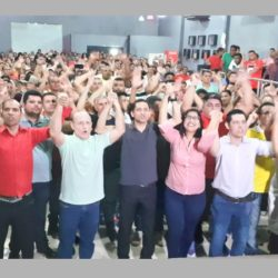 Frente por Santana defende reconstrução da cidade