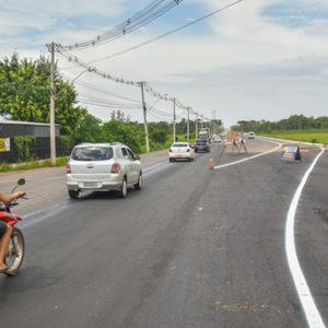 Primeira etapa da nova ponte da Lagoa dos Índios será liberada para tráfego