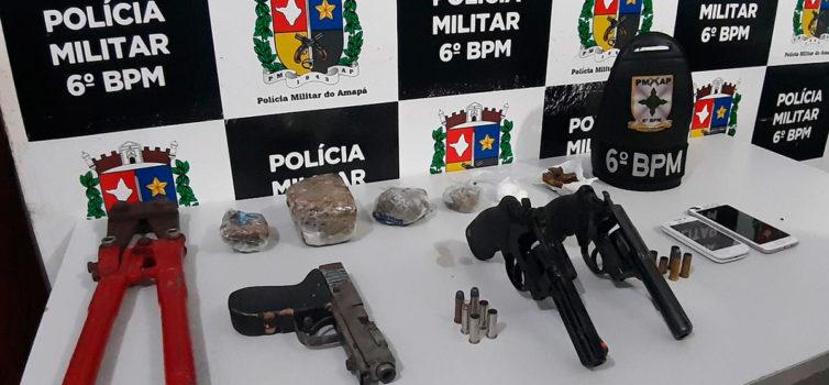 Três morrem em troca de tiros com a PM na zona oeste de Macapá