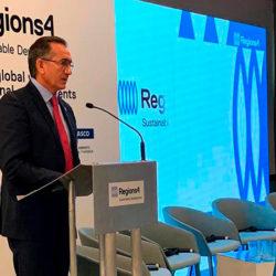 Na Espanha, Waldez defende união do Brasil na causa do clima