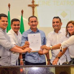Governo dá contrapartida e obras do Cine Teatro Municipal de Santana serão retomadas