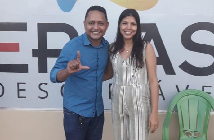 Empresária Daimini, do Grupo Menino Jesus, adere à pré-candidatura de Heverson Castro