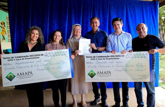 Casa da Hospitalidade recebe R$ 460 mil para custeio