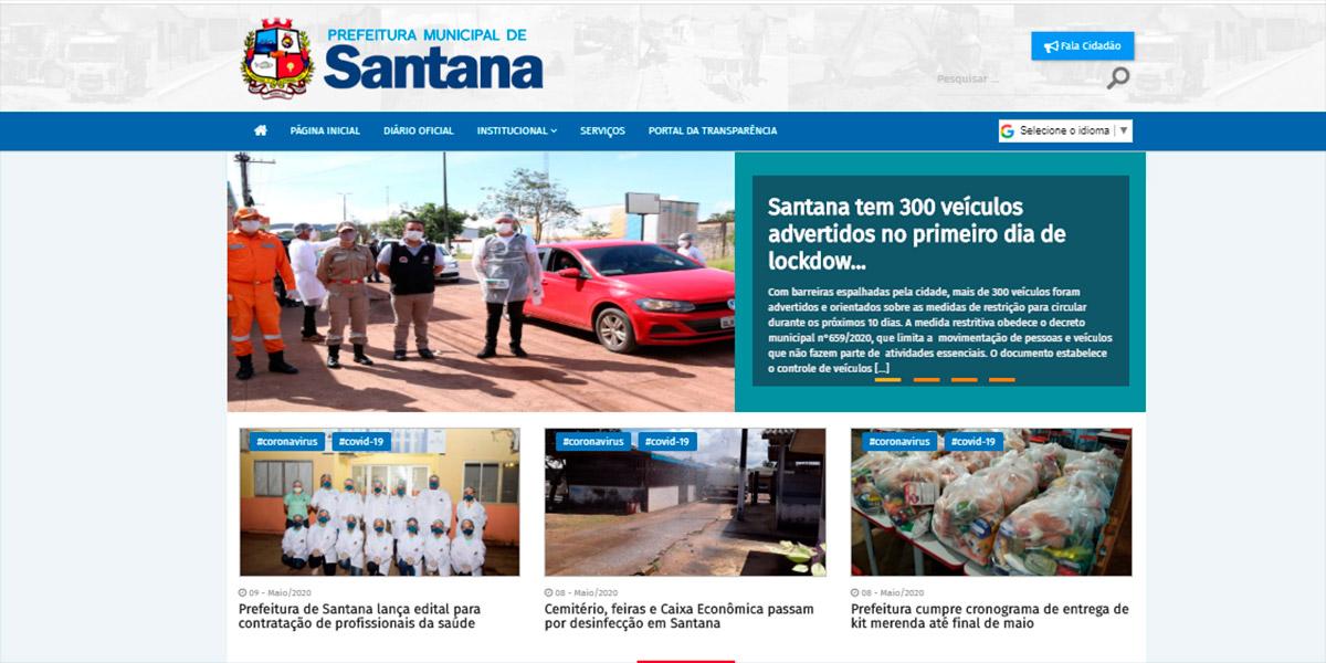 Justiça determina que Prefeitura de Santana divulgue gastos para enfrentamento da pandemia