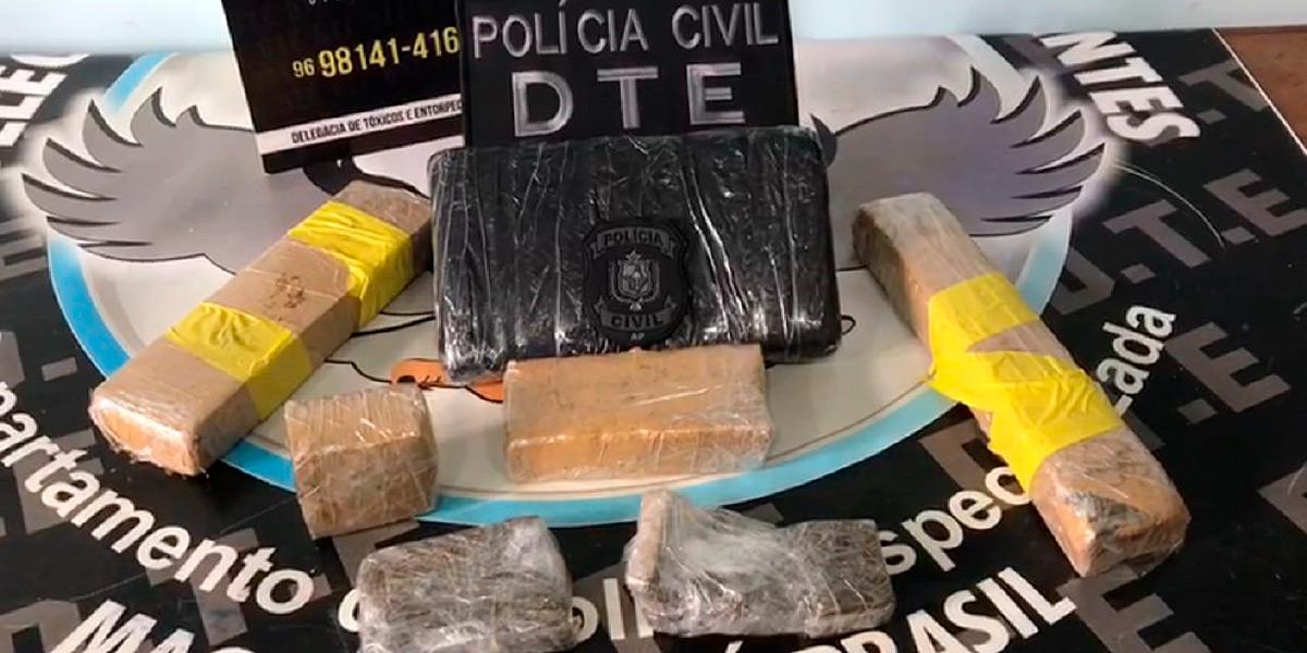 Motorista que trabalhava para traficante é preso em Macapá