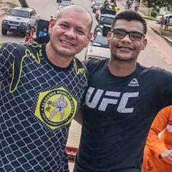 Desfalque: Treinador Ronildo Nobre não irá acompanhar Raulian Paiva no UFC 251