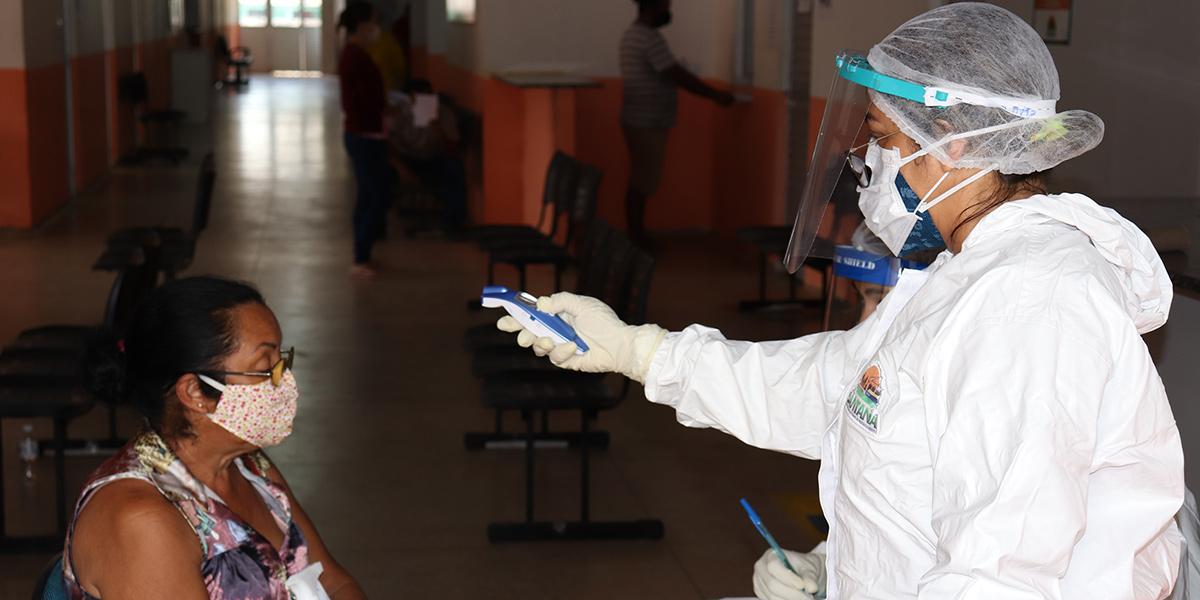 Santana ultrapassa os 5 mil infectados pelo novo coronavírus