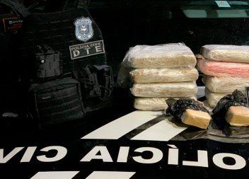 Polícia Civil apreende drogas misturadas com peixe em Santana