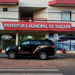 Polícia Federal apura fraude na aplicação de recursos contra o coronavírus em Macapá