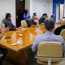 Em reunião com Davi, governador Waldez Góes apresenta andamento de obras e novos projetos para o AP