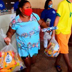 Governo inicia mais uma etapa de entrega de kits de alimentos aos estudantes