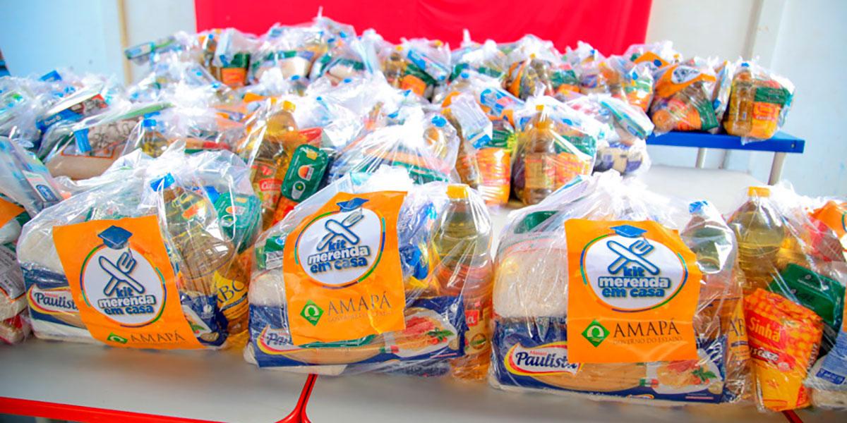 Em Santana, mais de 20 mil alunos são beneficiados com o Kit Merenda em Casa
