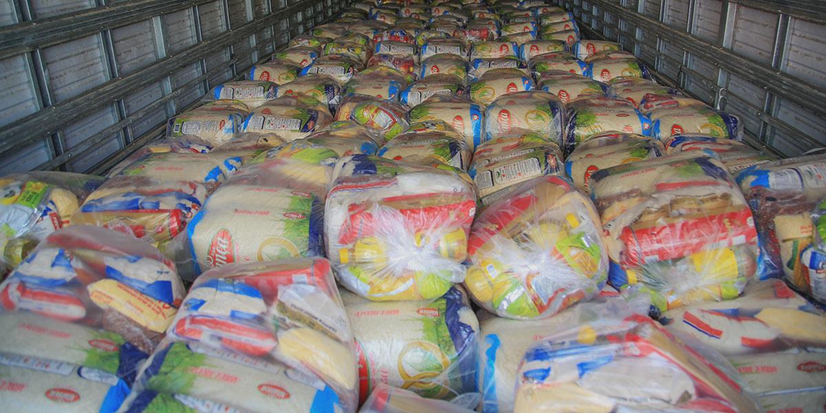 Cestas de alimentos beneficiam sete comunidades quilombolas de Santana