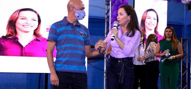 Convenção confirma Professora Marcivânia e Major Nabor à Prefeitura de Santana