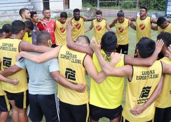Humildade, união, juventude e talento. A fórmula do Santana para tentar o título do Amapazão