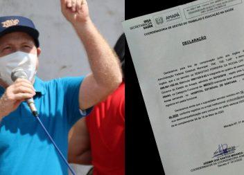 Sesa confirma que Bala pediu desincompatibilização dentro do prazo