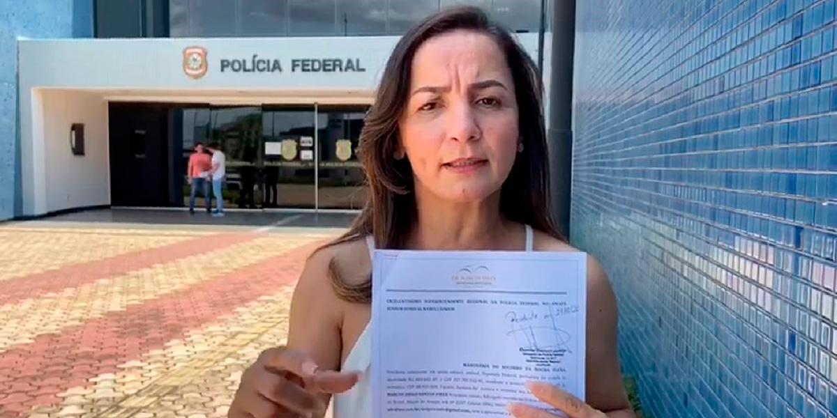 Professora Marcivânia pede que Polícia Federal investigue fake news