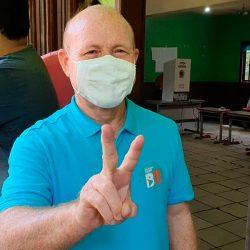 'A expectativa é de vitória', afirma Bala Rocha ao votar