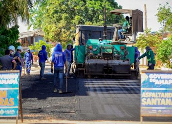 Governo do Estado anuncia mais 30 km de asfalto para Santana