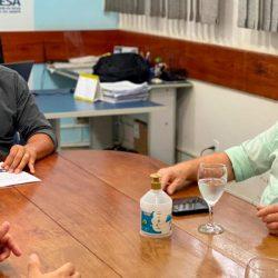 Caesa e Prefeitura discutem melhorias no sistema de abastecimento de água em Santana
