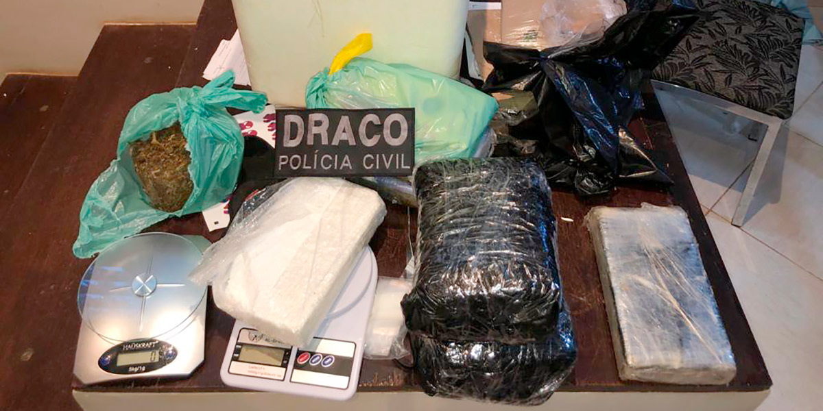 Preso com 8 quilos de drogas, traficante levava vida de luxo