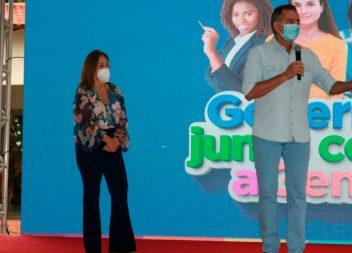 Em Santana, Waldez diz que Amapá terá escolas de tempo integral em todos os municípios