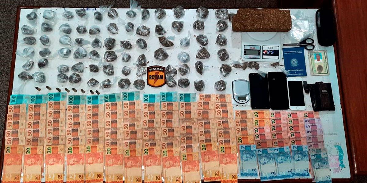 Recrutados pelo tráfico, suspeitos sem antecedentes criminais são presos