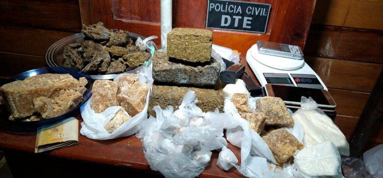 Polícia Civil descobre ponto de distribuição de drogas em Macapá