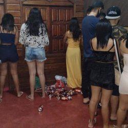'Resenha' regada a álcool e drogas é descoberta pela Polícia Militar