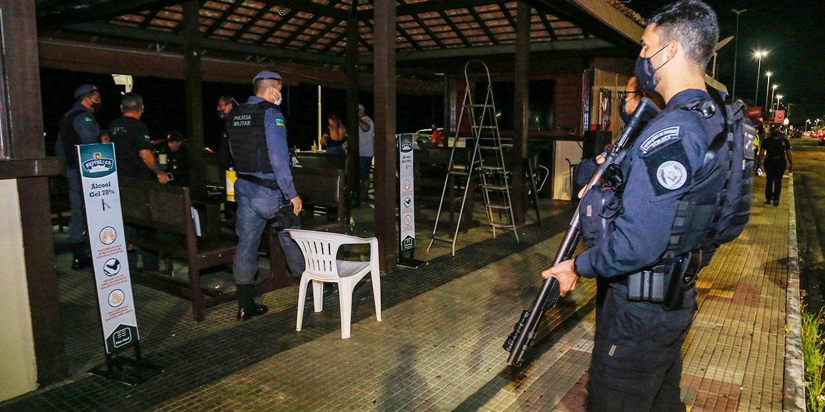 29 estabelecimentos são fechados por descumprimento da lei seca