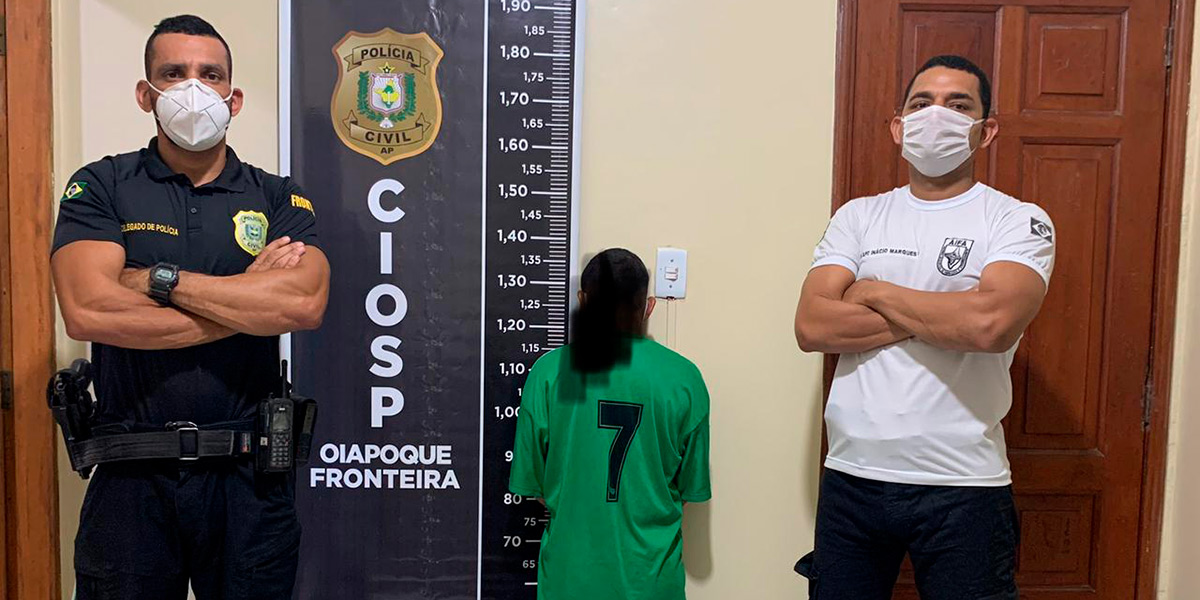 Autor de homicídio é preso durante operação em Oiapoque