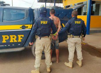 Condenado por latrocínio é preso pela Polícia Rodoviária Federal