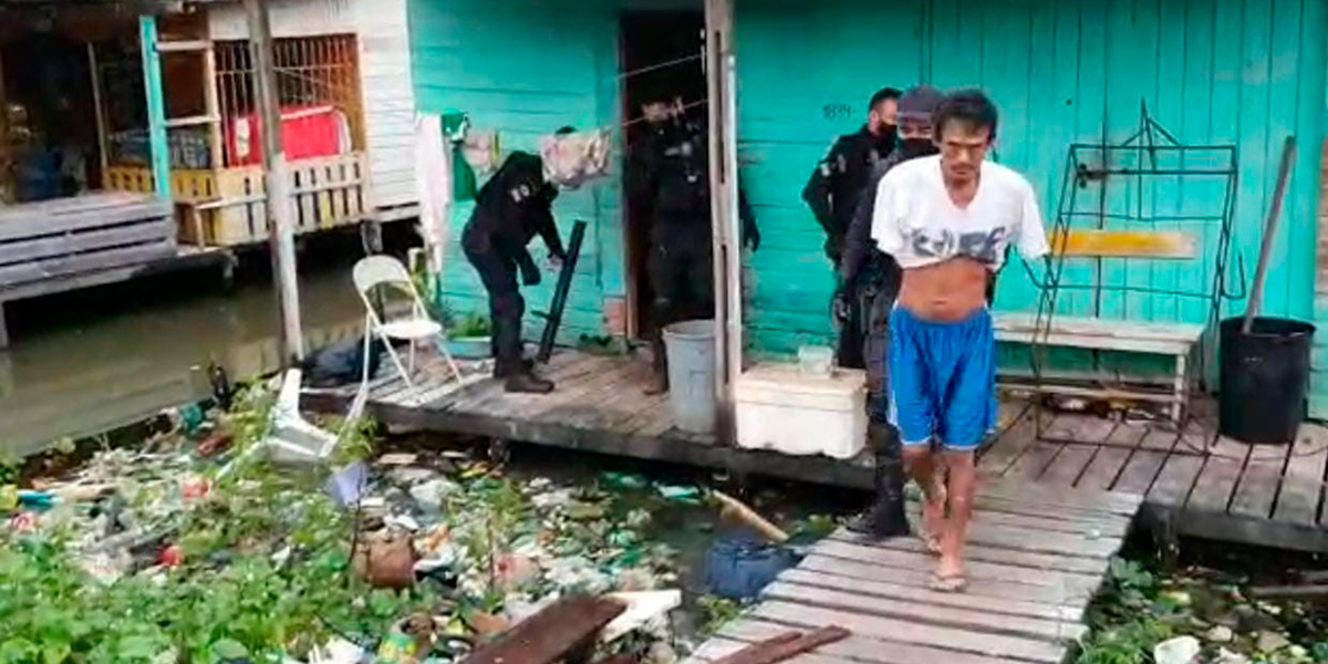 Condenado por matar o próprio irmão é preso pela Polícia Civil