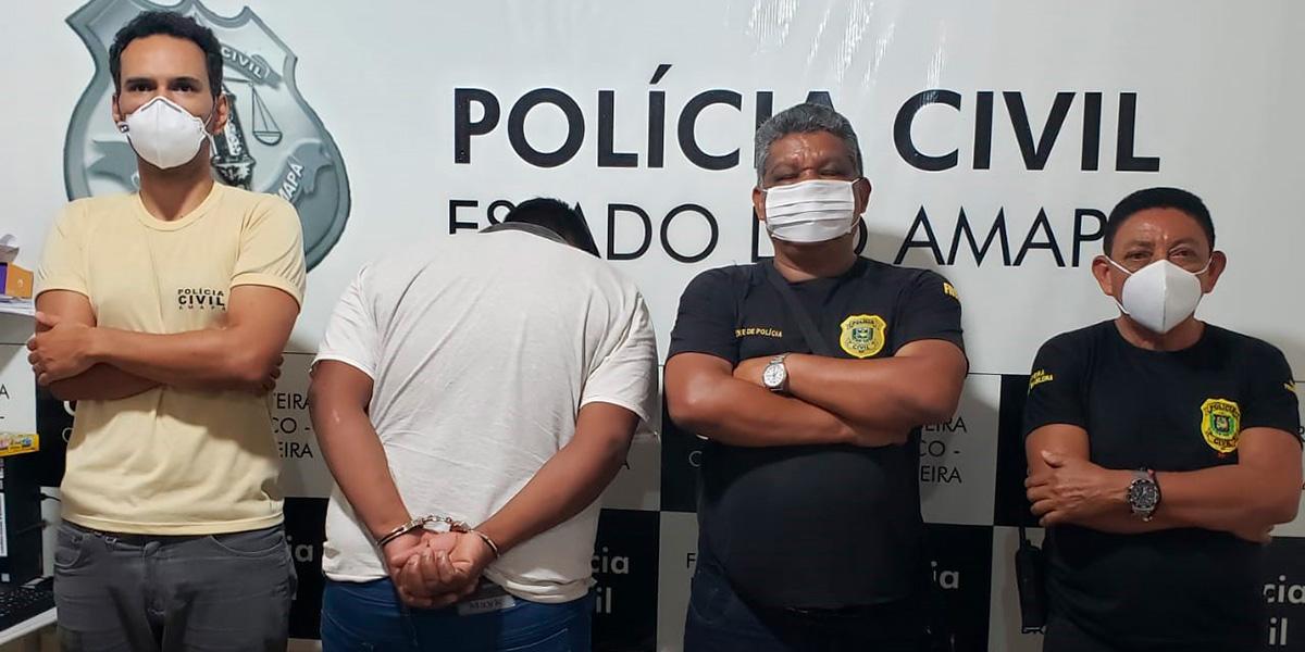 Assassino da 'noite sangrenta' é preso em Oiapoque