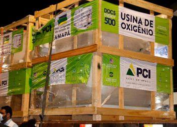 Usina reforça abastecimento de oxigênio na rede de saúde do Amapá