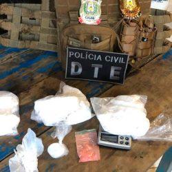 Homem que entregava drogas a mando de um detento do Iapen é preso