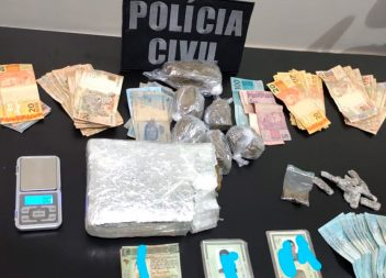 Dois homens são presos em flagrante por tráfico de drogas em Santana