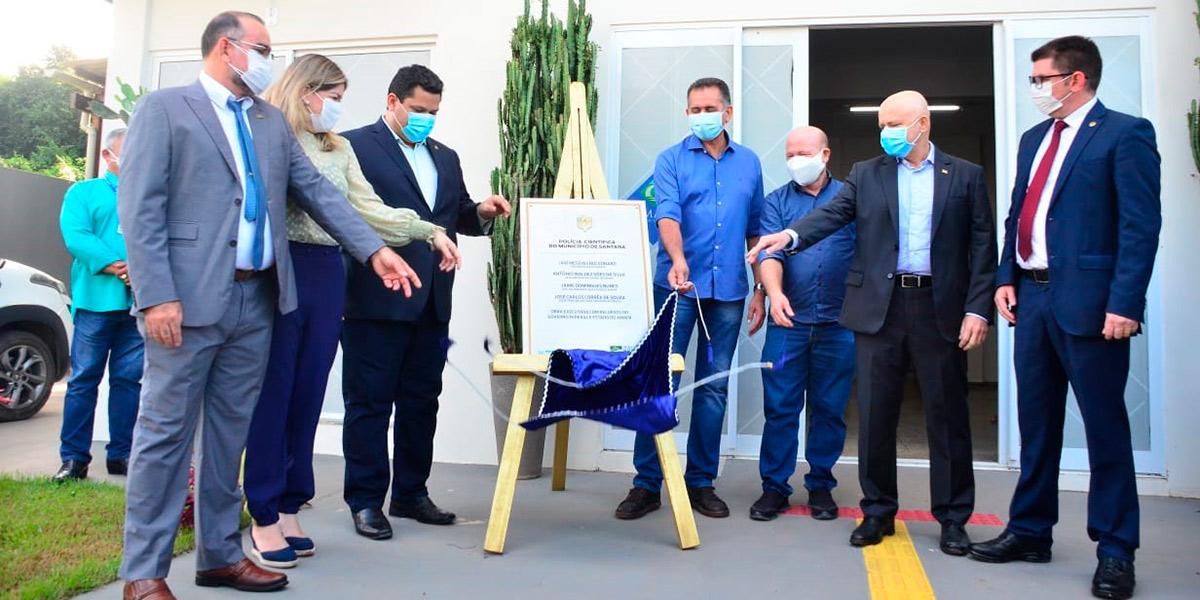 Governo inaugura prédio da Polícia Científica em Santana