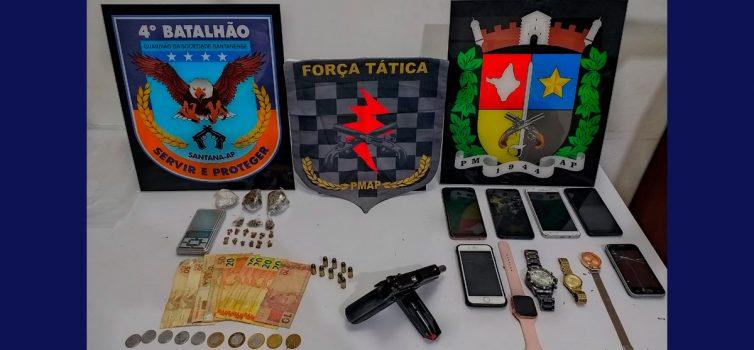 Criminoso morre em troca de tiros na Baixada do Ambrósio